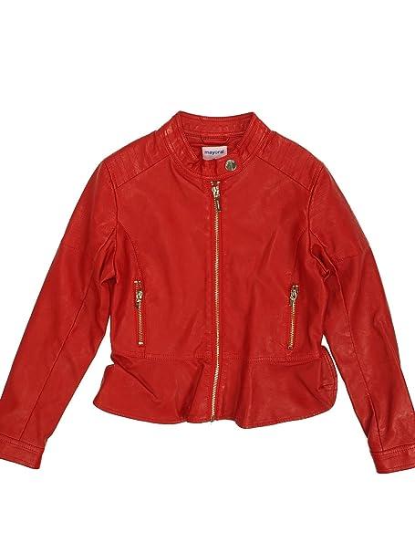 Mayoral 28-06416-010 - Abrigo para niña 14 años Rojo