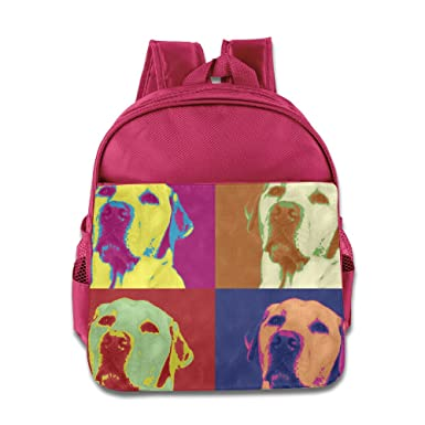 Amazoncom Colorful Art Dog Boys Girls Backpack For School