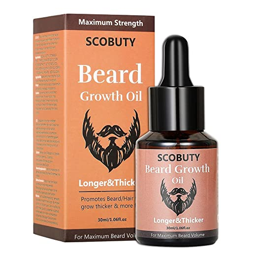Scobuty Beard Growth Oil-Natural Beard Oil Review