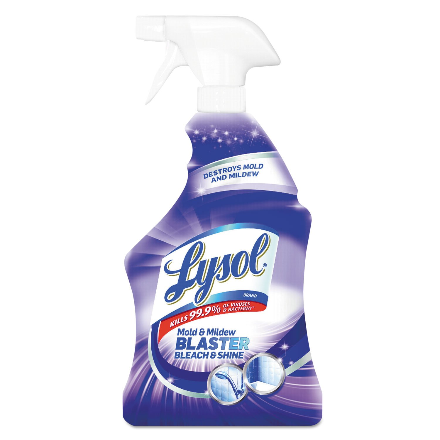 Lysol 78915EA Mold & Mildew Blaster with Bleach, Ready to Use, 32oz Spray Bottle