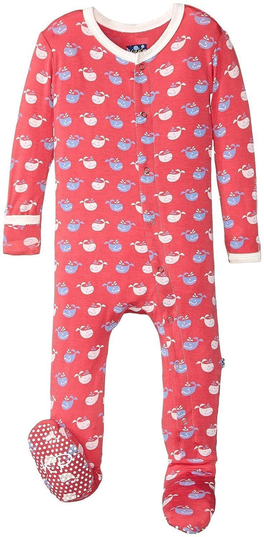 Kickee Pants Baby Boys Print Footie Prd-kpf173-wrtw