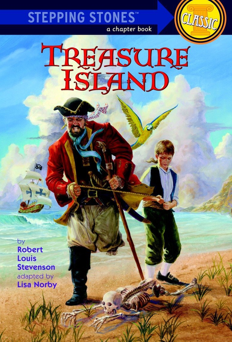 Treasure Island By Robert Louis Stevenson Book