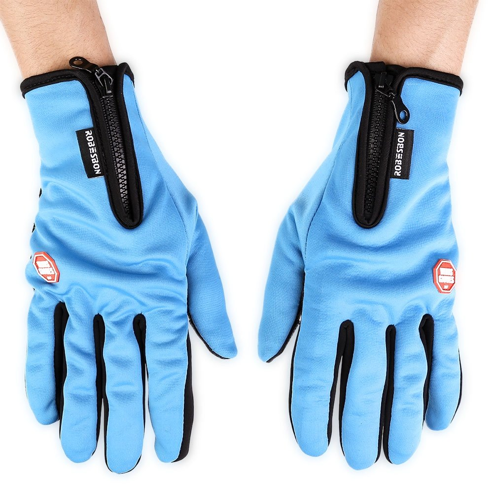 Sport Robesbon Paired Unisex Outdoor Bicycle Screen Warm Riding Gloves