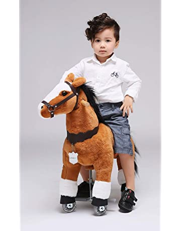 UFREE Horse Great Gift for Boys, Toy Pony dazione, Ride on Small