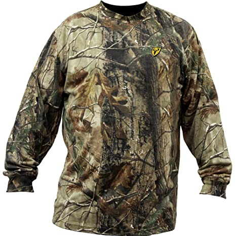 95eb688ffba89 Scent Blocker Youth Long Sleeve Cotton T-Shirt, Realtree Xtra (Small)