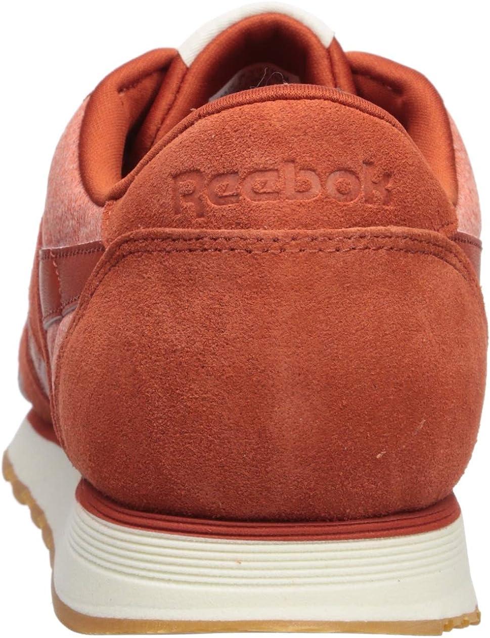 Reebok Herren Classic Leather Nylon M Turnschuh Burnt Amber Kreide
