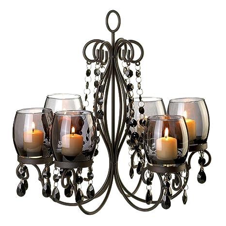 Amazon 10015103 wholesale midnight elegance chandelier candles 10015103 wholesale midnight elegance chandelier candles candle lantern fire heat light whmart aloadofball Gallery