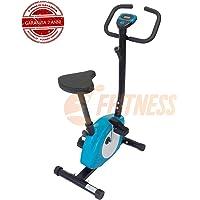 FFitness Offerta Cyclette CICLETTE 301 Blu Azzurro Azzurra Magnetica Home Trainer Bici da Fitness Cardio Fitness Power Home Allenamento Bici da Camera