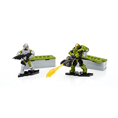 Mega Construx Halo Customer Marines Specialist Weapons Pack: Toys & Games