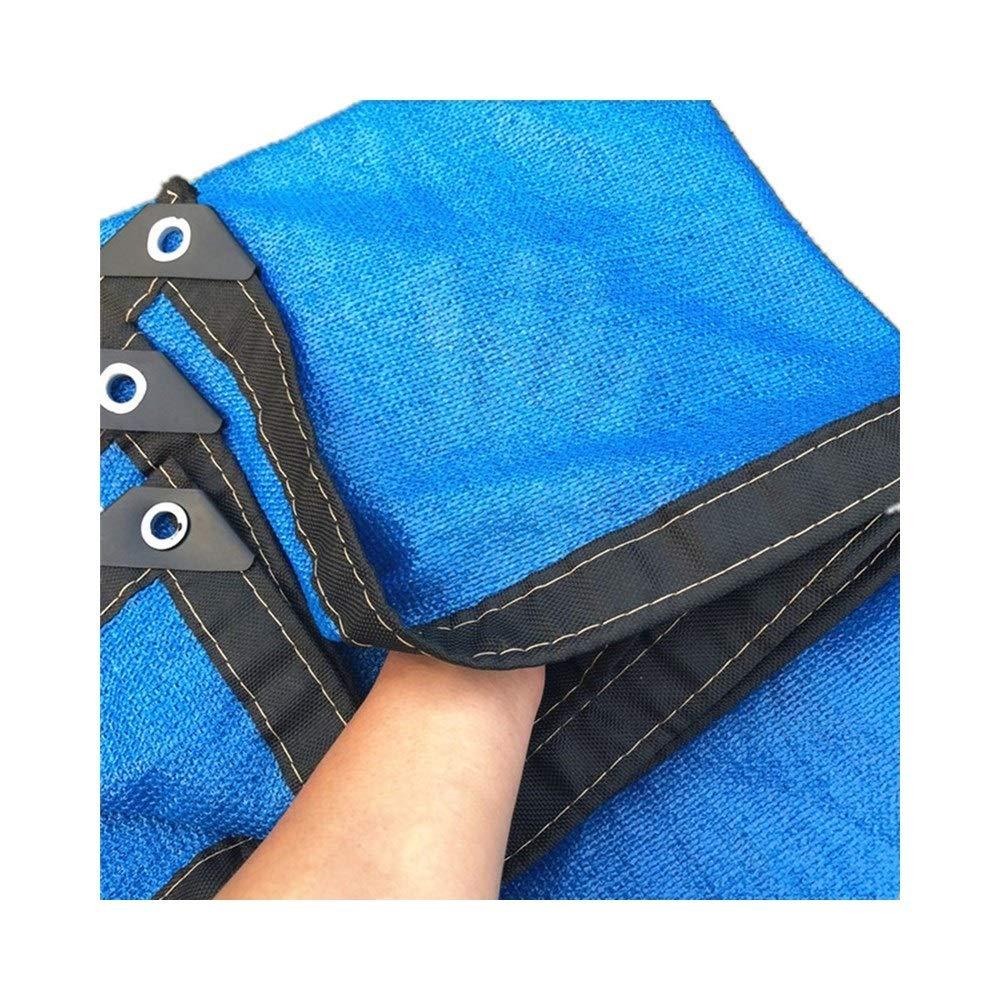 DYFYMXUV Ombra Rete Ombra Net, Network Ombra Netta Fiori Balcone Giardino Piscina 8-Pin Protezione Solare UV Isolamento (colore   A, Dimensioni   4X4m)