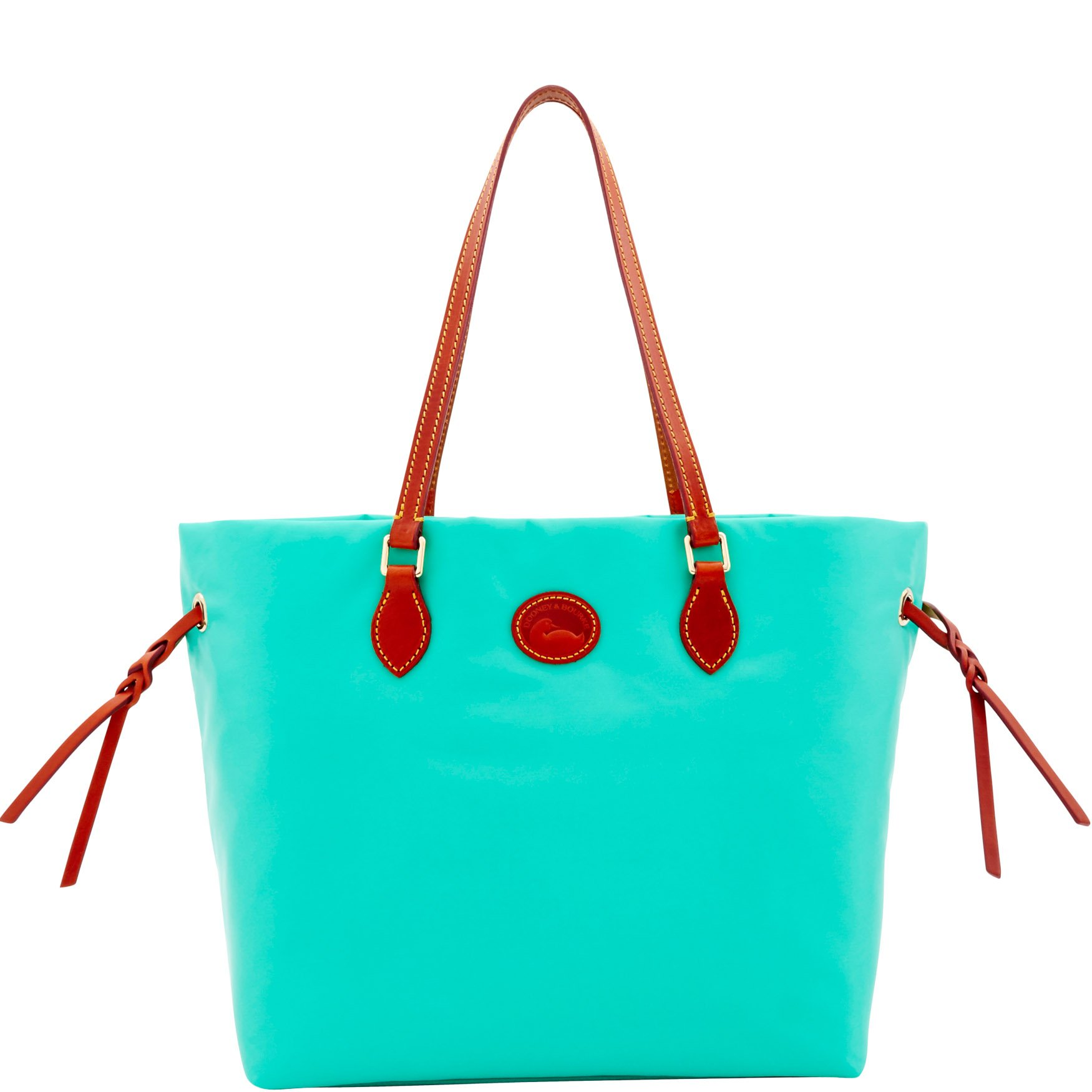 Dooney & Bourke Nylon Shopper Tote Shoulder Bag Purse, Green by Dooney & Bourke