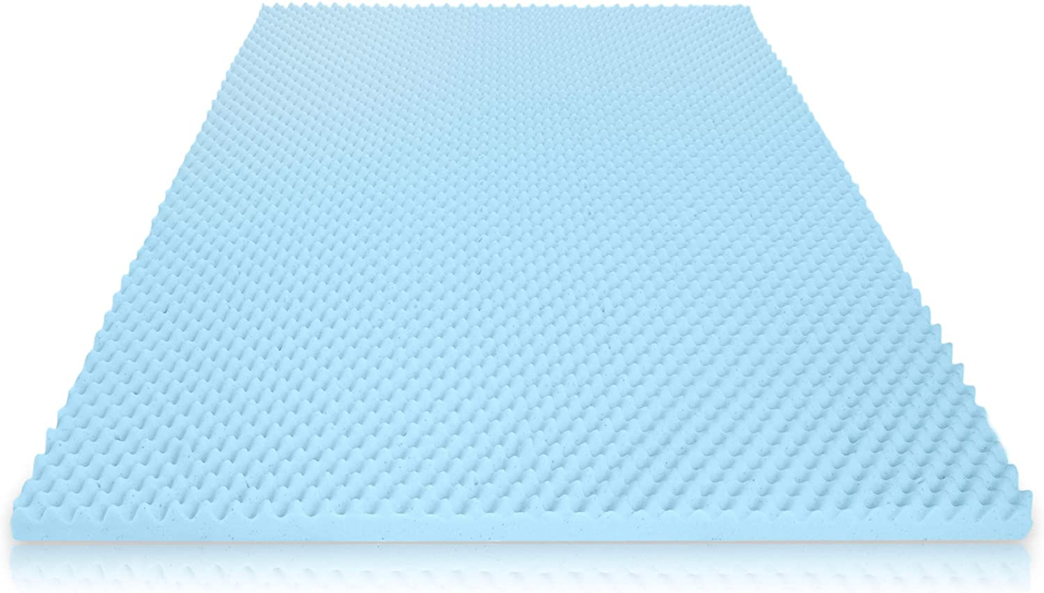 Milliard 2in. Egg Crate Gel Memory Foam Mattress Topper - Full