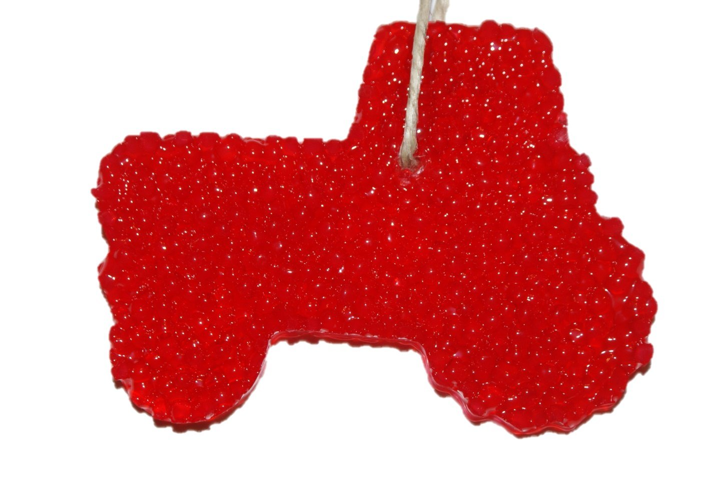 ChicWick Car Candle Strawberry Leather Tractor Shape Car Freshener Fragrance