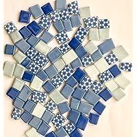 Sai Mosaic Art Pastel Mix tumble light blue