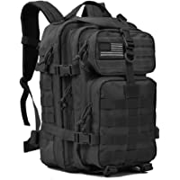 Military Tactical Backpack Large Army 3 Day Assault Pack Molle Bug Out Bag Backpacks Rucksacks for Outdoor Sport Hiking Camping Hunting 40L Black