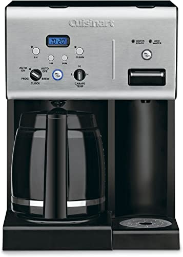 Cuisinart CHW-12P1 12-Cup Programmable Coffeemaker Plus Hot Water System Coffee Maker