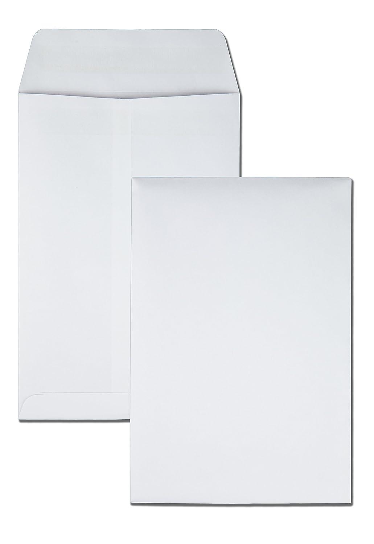 Quality Park 43317 Quality Park Redi-Seal Catalog Envelopes, 6-1/2x9-1/2, White, 100 Per Box QUA43317