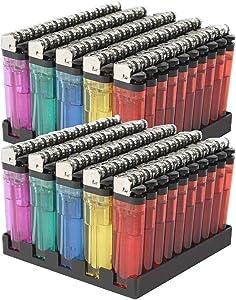 100 Lot Wholesale Lot Classic Disposable Lighter