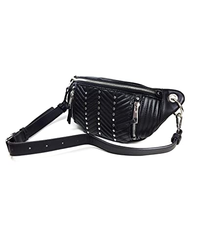 bf5f3f0381 Zara Women Belt bag with zips 6424/304: Handbags: Amazon.com