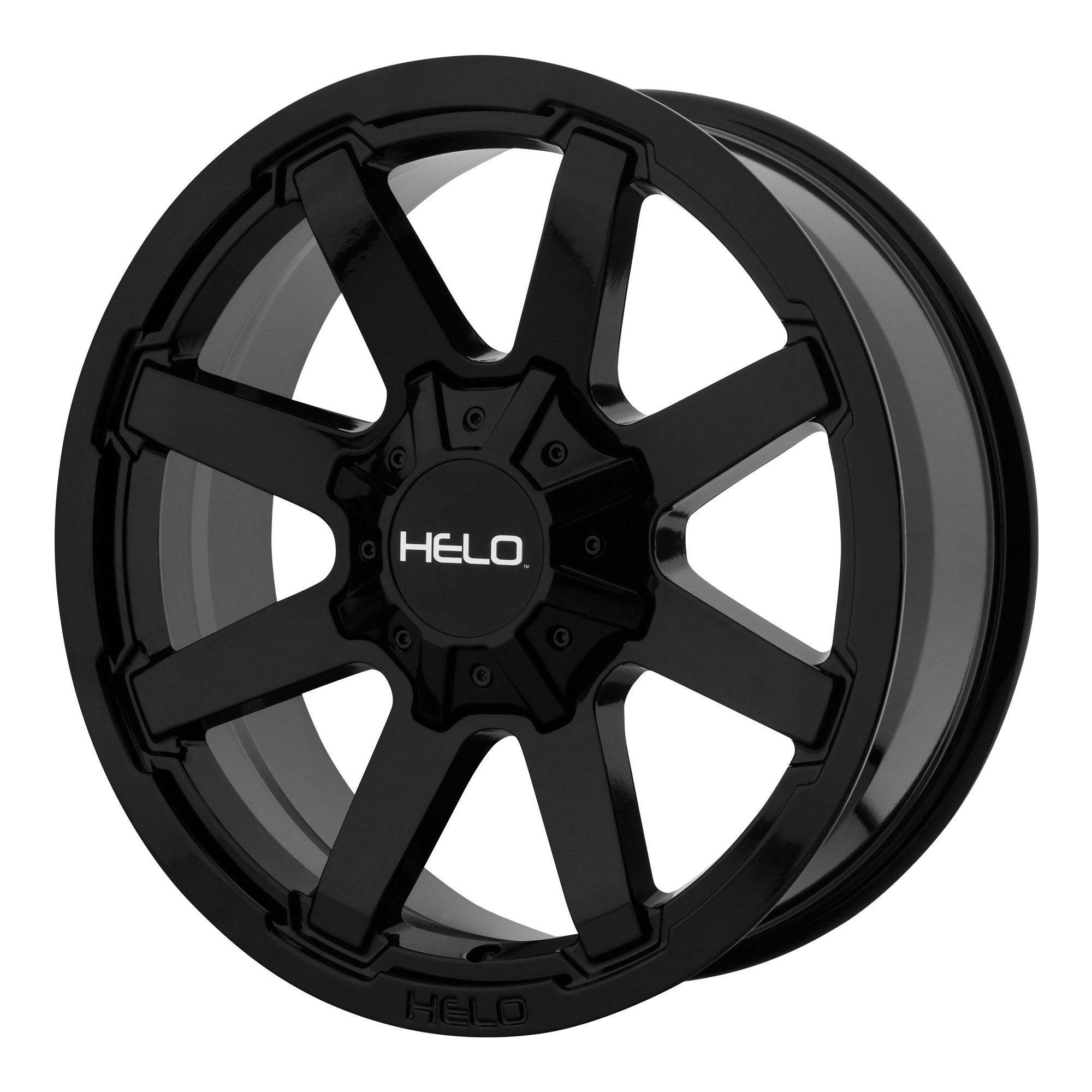 Helo HE909 17x9 8x180 +18mm Gloss Black Wheel Rim
