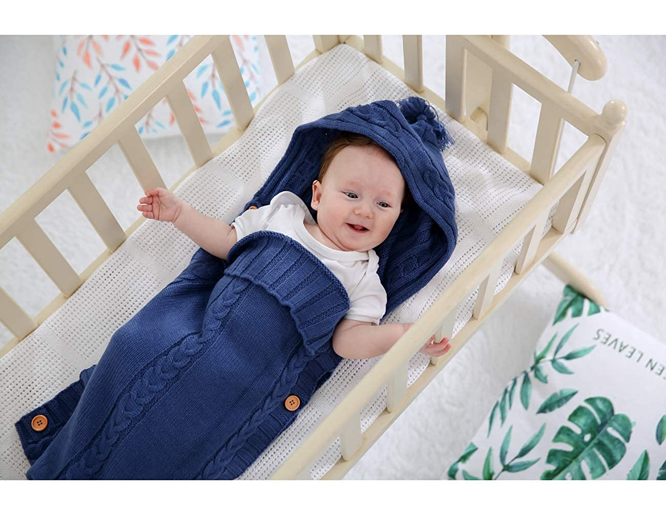 XMWEALTHY Infants Baby Blankets Cute Newborn Baby Girls Swaddle Blankets Toddler Boys Blankets Newborn Gifts 0-6 M ICECHO089-LPINK