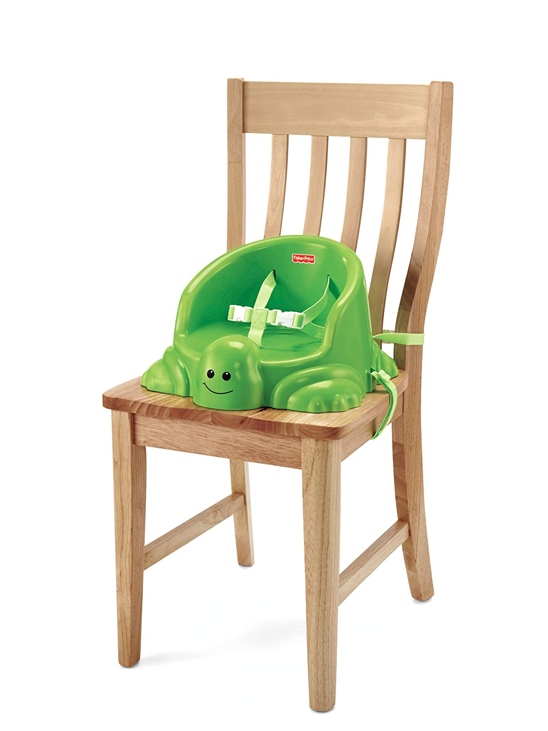 Amazon.com : Fisher-Price Table Time Turtle Booster : Chair Booster ...