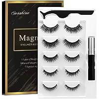 Magnetic Eyelashes Kit Magnetic Eyeliner With Magnetic Eyelashes Magnetic Lashliner For Use with Magnetic False Lashes…