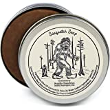 Sasquatch Soap-100% Natural Skin Care Bar. Scented with Essential Oils. Handy Travel Gift Tin. Great For Bigfoot, Camping, Outdoors Lovers.
