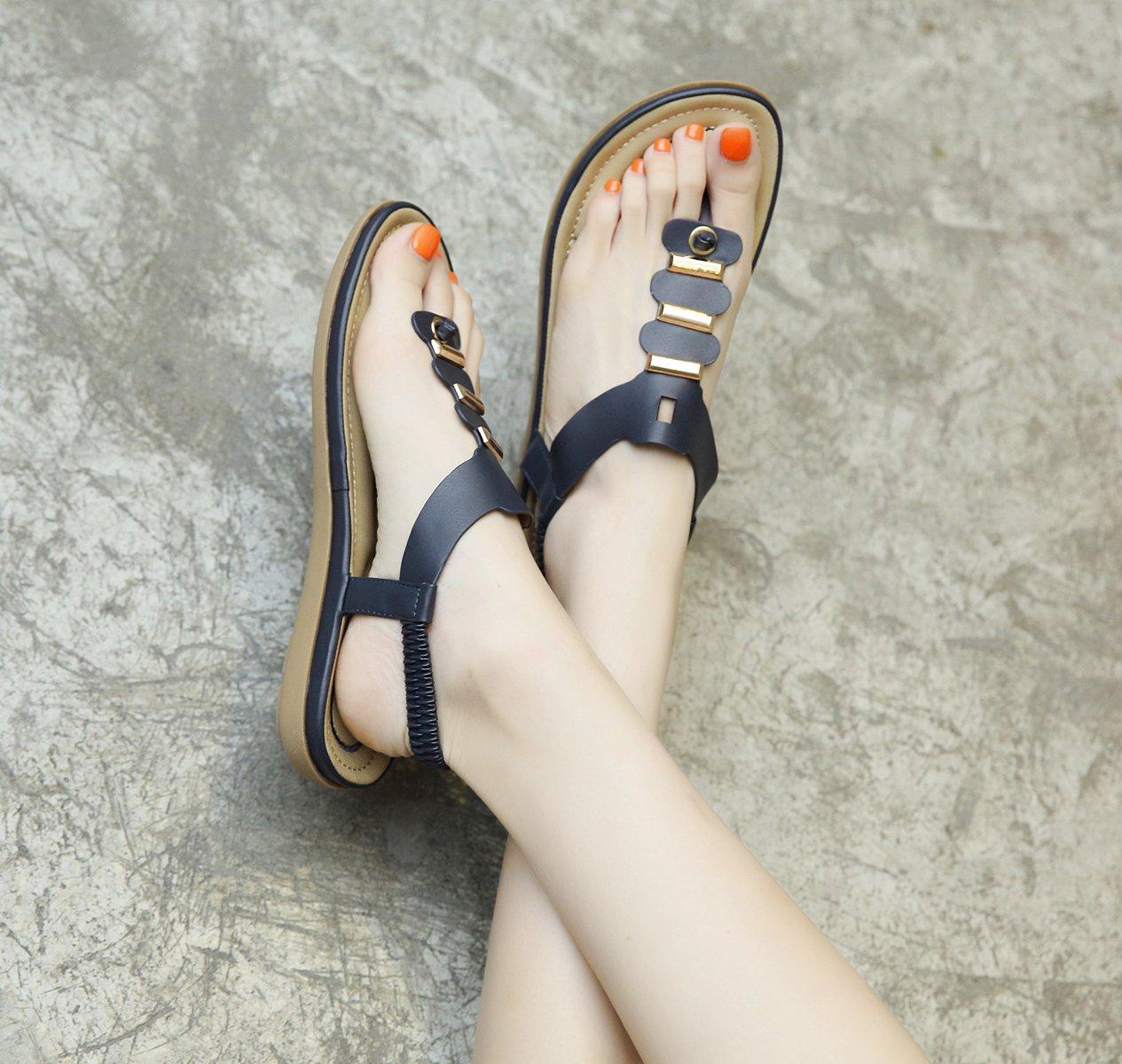 ZAMME CNPSHOE164 Damen Zehentrenner Blau2018 Schuhe Letztes Modell  Mode Schuhe Blau2018 Billig Online-Verkauf 2536ad