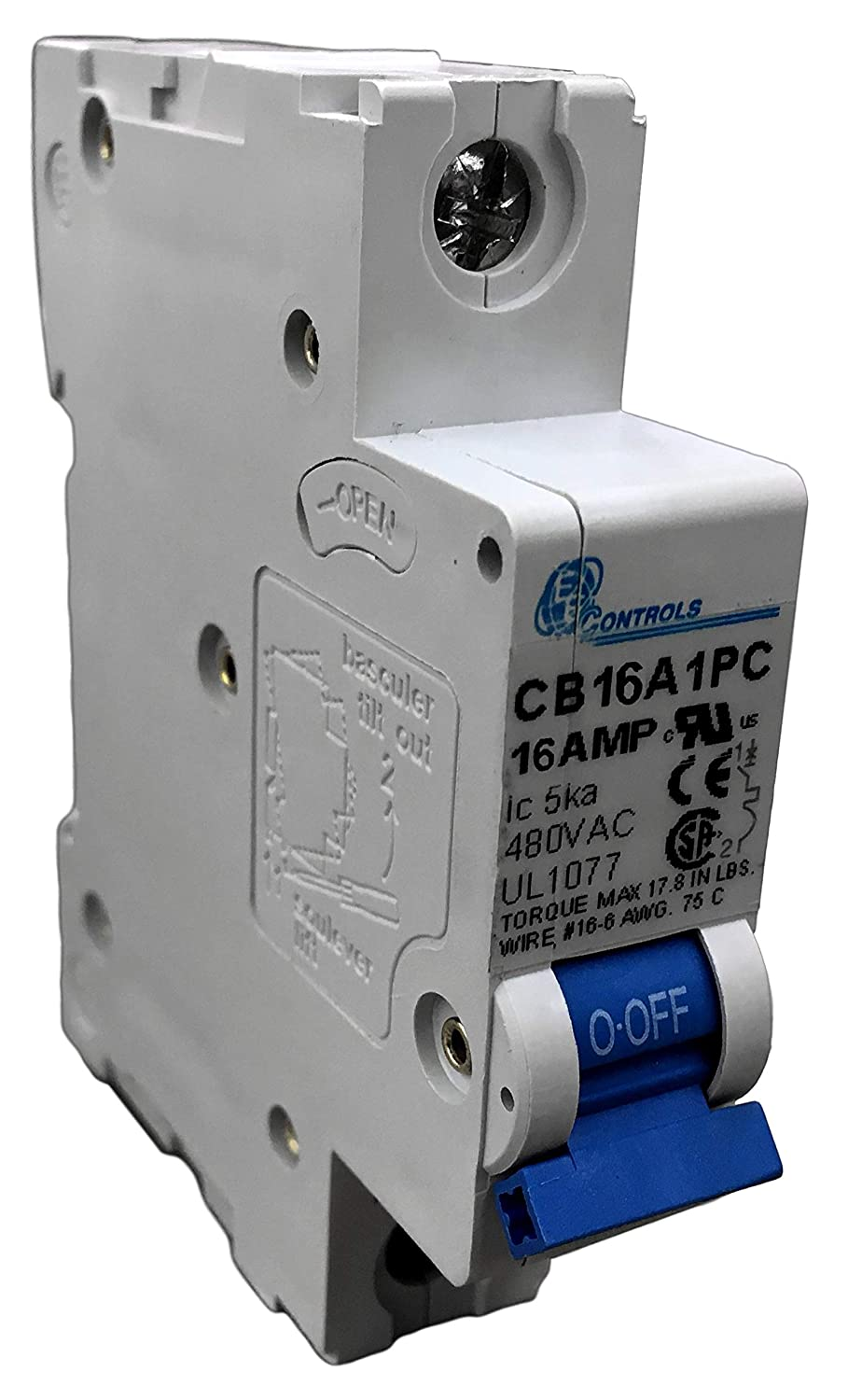 50 Amp Blue Sea Systems Short Stop Circuit Breakers 10 Amp