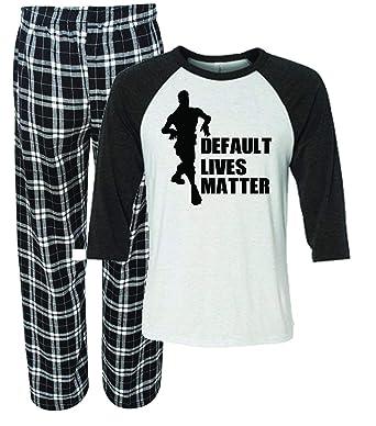e5fa1a695f Default Lives Matter Fortnight Pajamas for Men at Amazon Men s Clothing  store