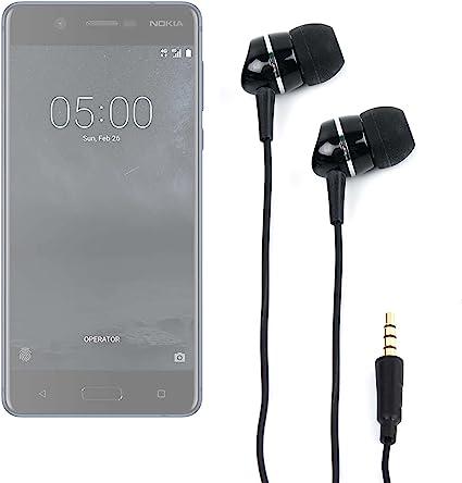 DURAGADGET Auriculares para Smartphone Nokia 8, Nokia 5, Nokia 3 ...