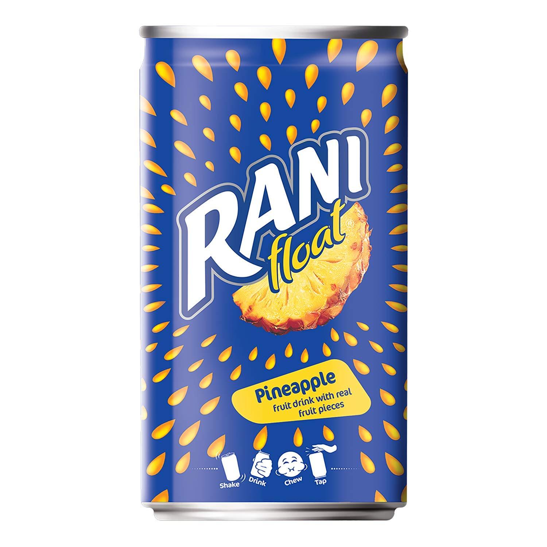 Rani Float - Pineapple, Pack of 6 X 180 ml