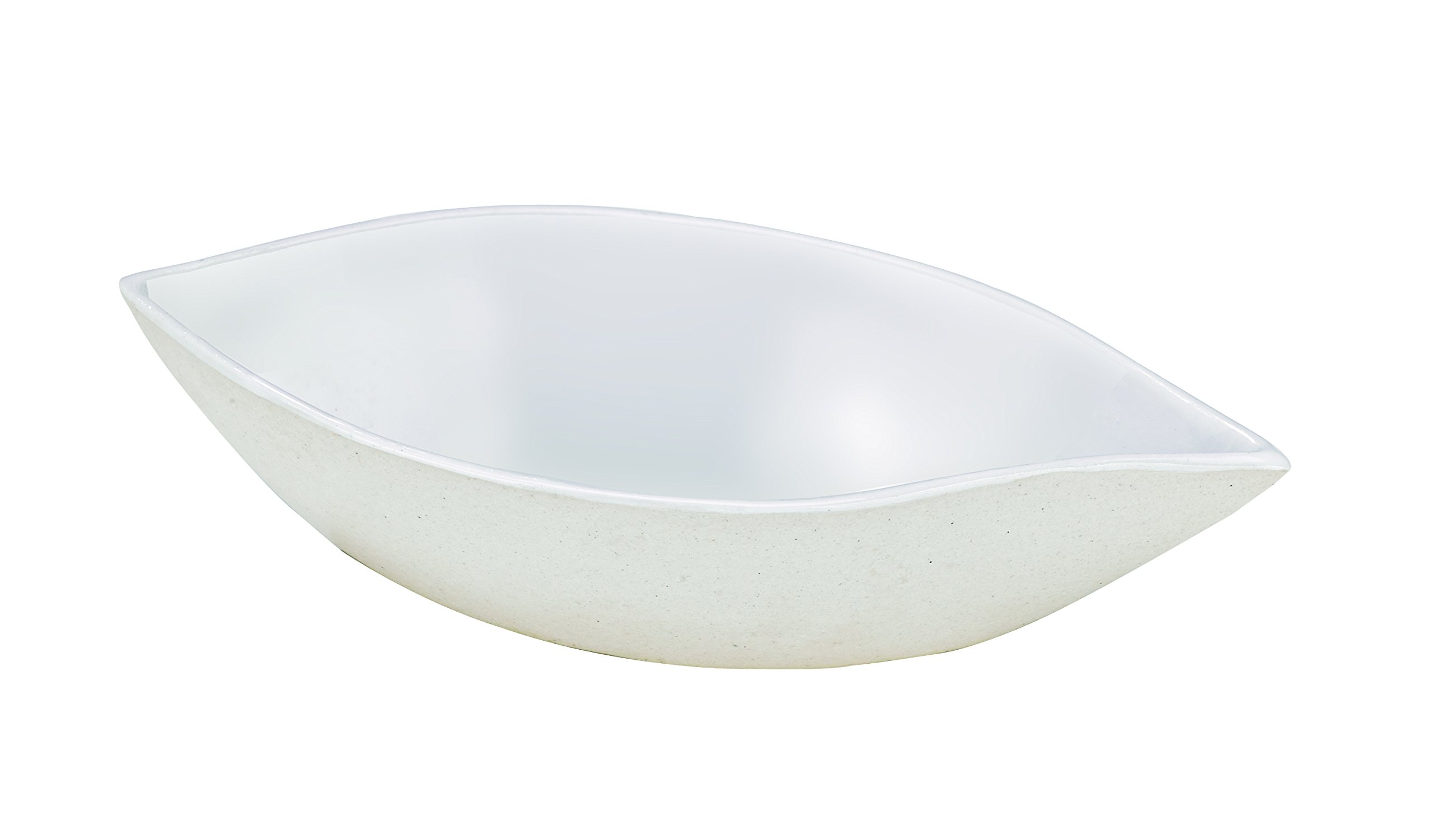 Bio 'n' Chic Drop Shaped Sugarcane Sauce Dish (Case of 300), PacknWood - Small White Paper Dish for Pouring (1.5 oz, 4.3'' x 2'' x 1'') 210BCHICDROP