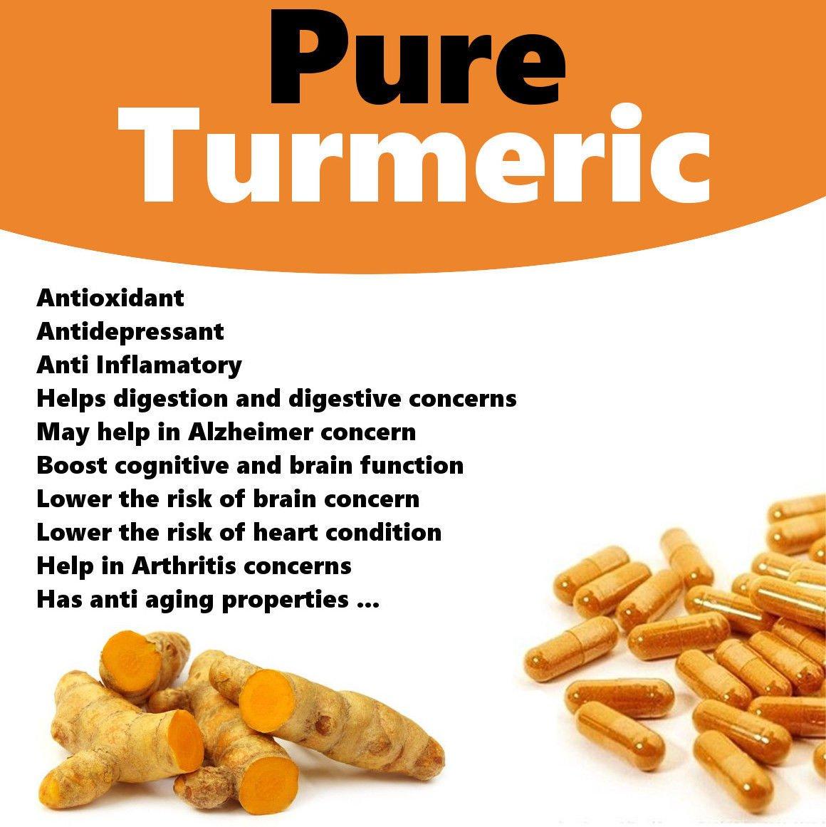 Organic Turmeric Powder (Curcumin) Premium Grade, High Purity, Freshly Packed Gluten-Free Vegan USDA ORGANIC 2 lbs