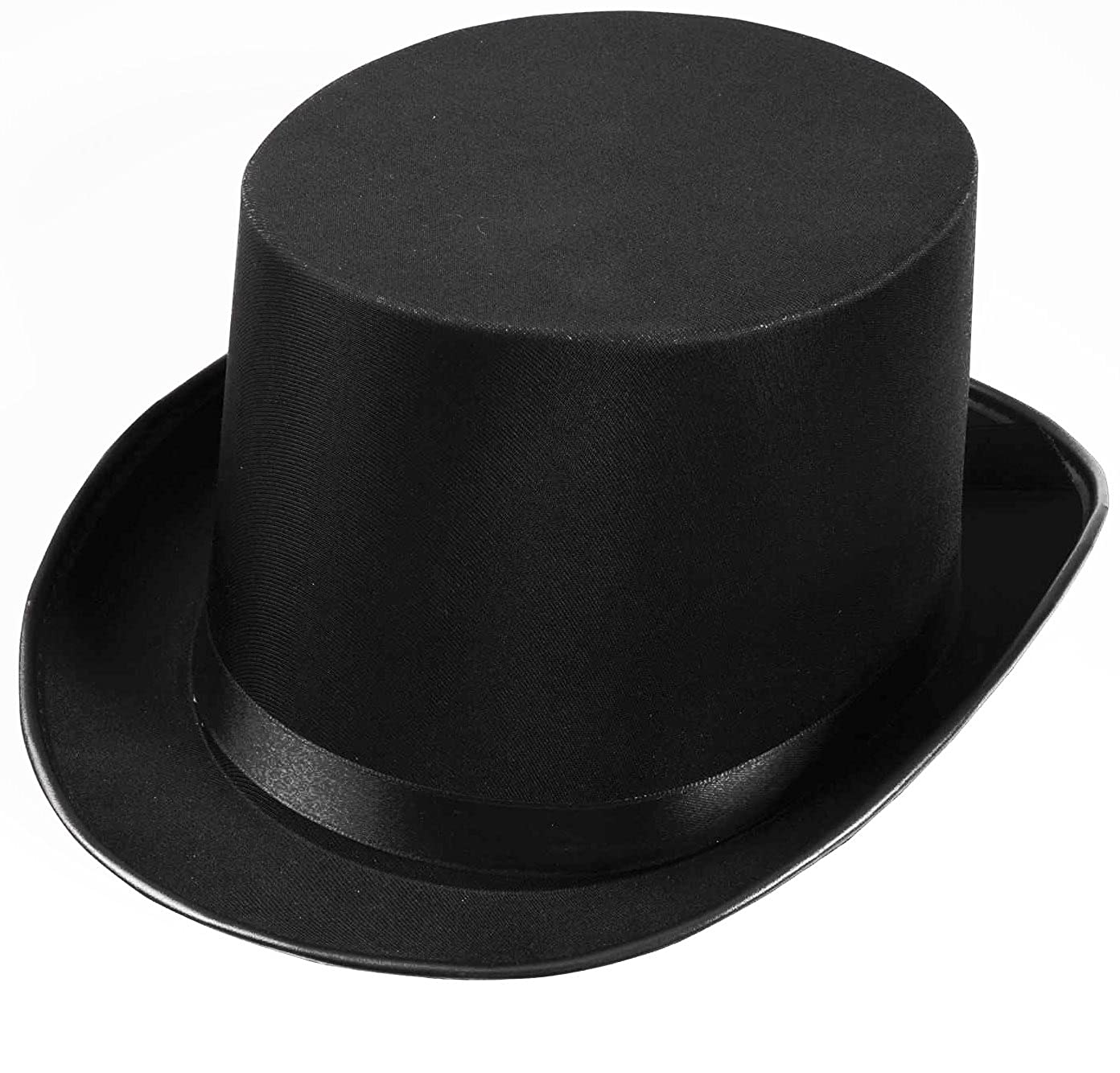 Forum Novelties Men's Deluxe Adult Satin Top Hat Costume Accessory Black One Size Forum Novelties Costumes 63835