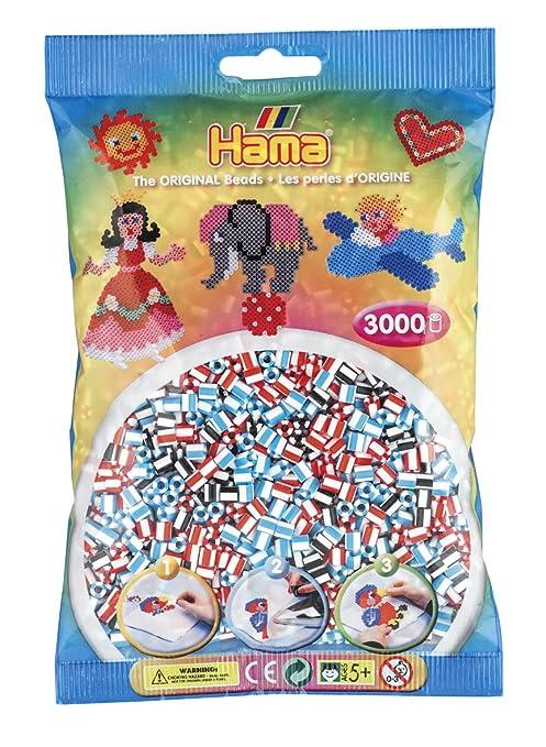 Beads Hama Bastelperlen 1.000 Stück ab 5 Jahre hellbraun Bügelperlchen