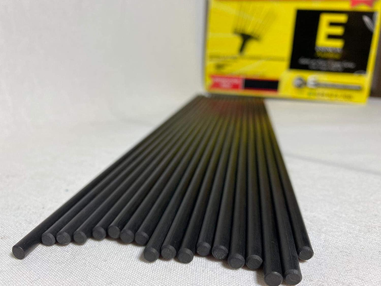 Varilla Fibra de Carbono Vareadora Ø 5 mm - 350 mm ■ Adaptables a las vareadoras Zanon- Benza- Boomerang- Brumita- Zome 08 ■ (Pack 10 unidades)