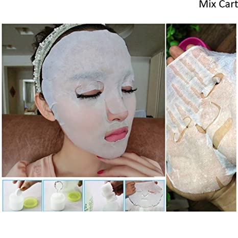 Buy Facial Face Mask Sheet Diy Facial Mask Paper Spa Skin