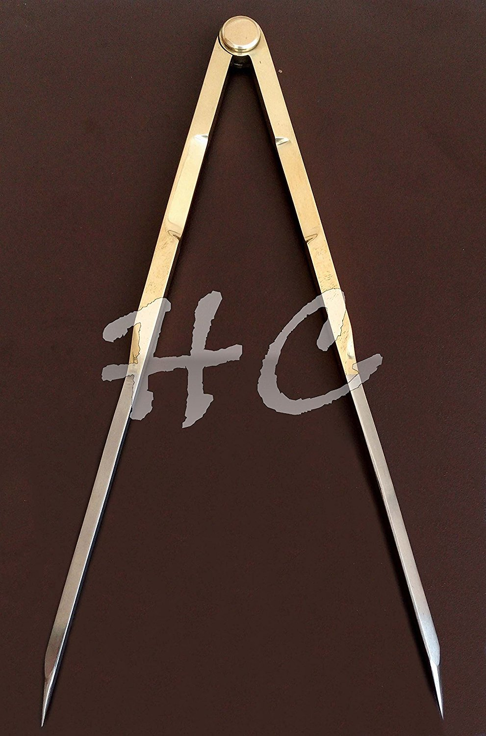 Humaira Nauticals 8'' BRASS ANTIQUE STEEL END VINTAGE DRAFTING PROPORTIONAL DIVIDER SCIENTIFIC TOOL