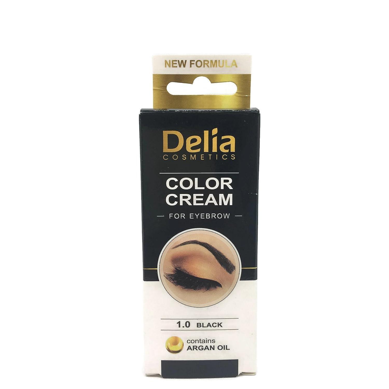Ciglia e sopracciglia colorazione professionale, colore nero/ marrone/marrone scuro 15ml (marrone) VERFER