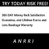 ANRRI Blue Light Blocking Glasses, Anti Eyestrain