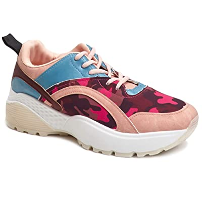 Womens Sneakers Fashion Chunky Trendy Dad Shoes, Trainers Thick Comfortable | Fashion Sneakers