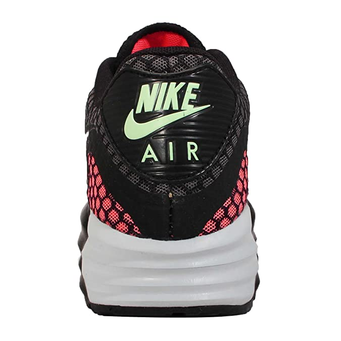 Nike Air Max Lunar90 Br, SchwarzSilber heiÃ?e Lava Dampf Grün, 8,5 M Us