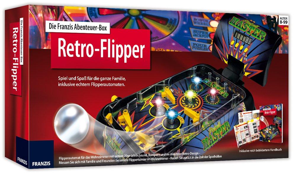 Die Franzis Abenteuer-Box Retro-Flipper: Spiel und Spaß für die ...