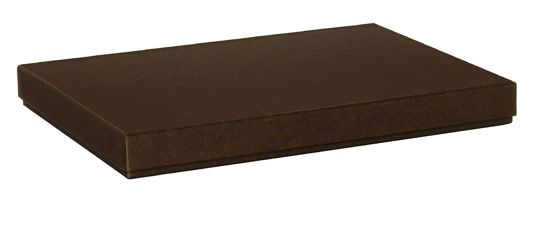 Rössler 1352453870 - Caja de cartón con tapa, formato A4, color marrón