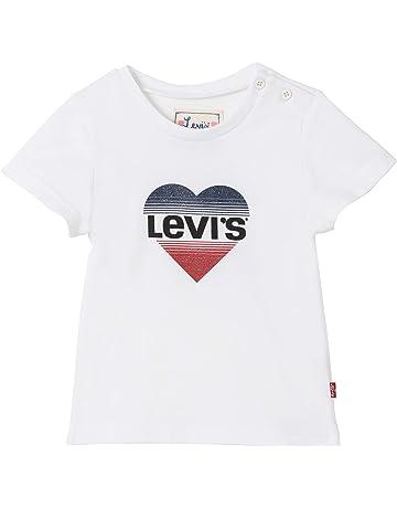 8453c130a956c Levi s Kids Nn10574 01 Short Sleeve Tee-Shirt - T-Shirt - Bébé Fille