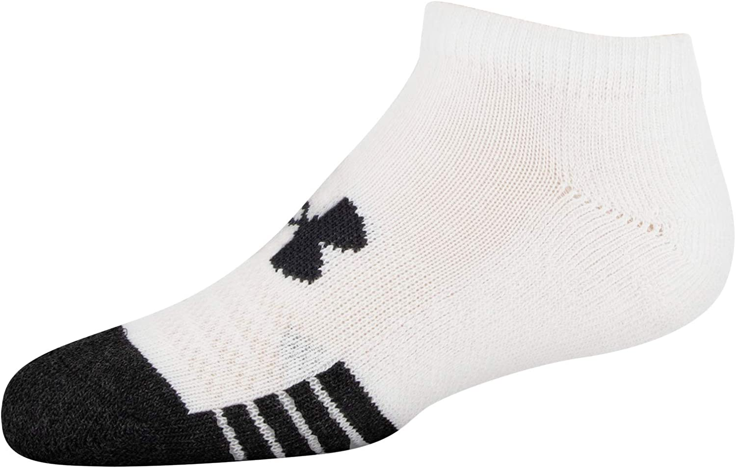 6-Pairs Under Armour Youth Performance Tech No Show Socks