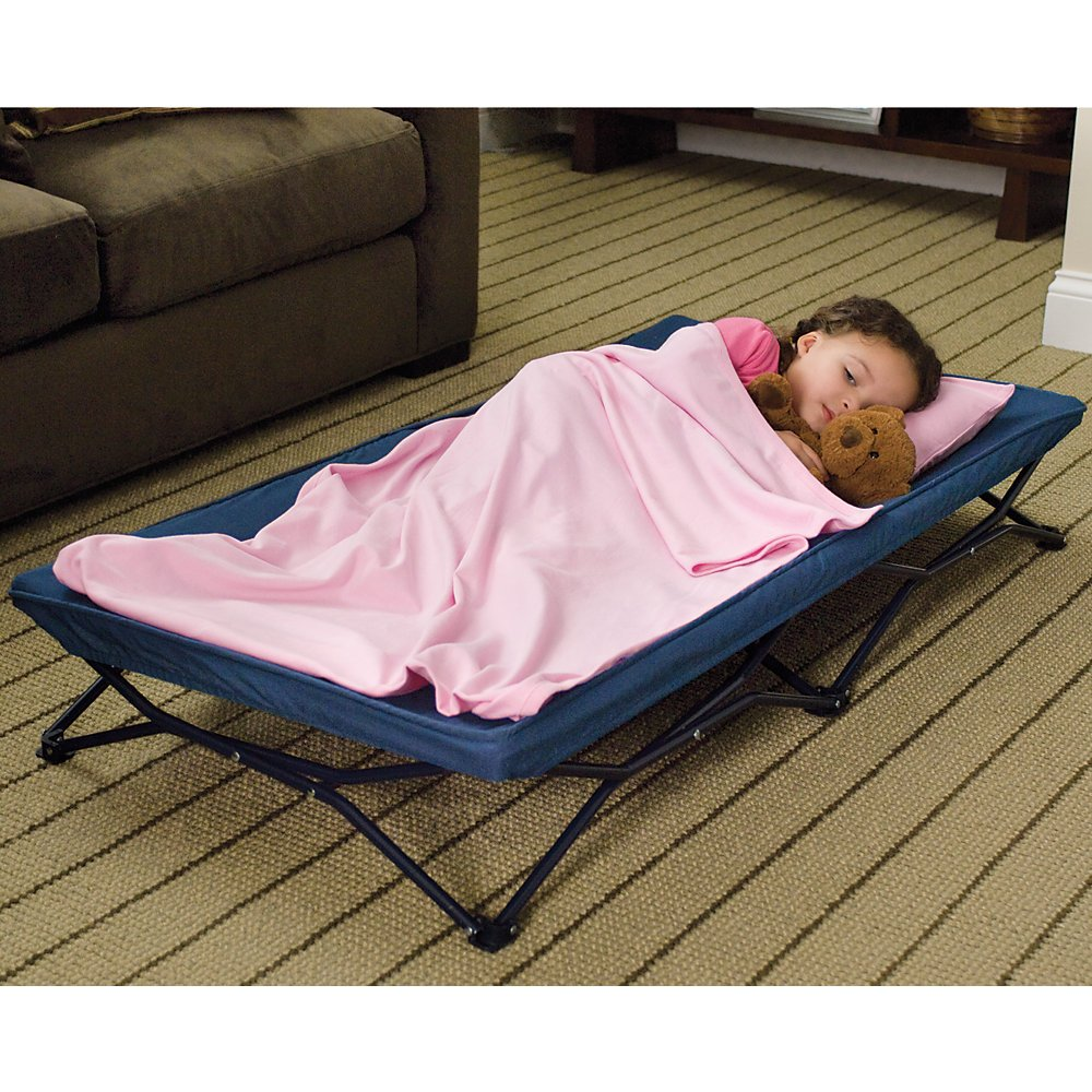 My Cot Portable Travel Bed Regalo 5001-ROYAL BLUE