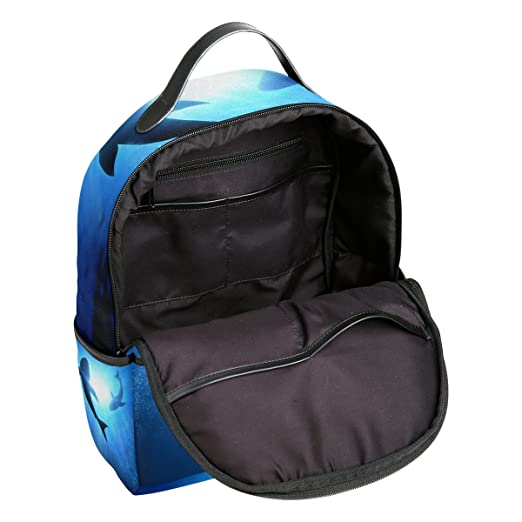 COOSUN Natación Escuela Dophins mochilas mochilas para las muchachas de los niños Multi: Amazon.es: Equipaje